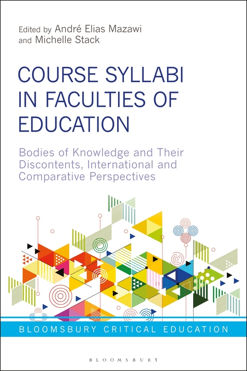 Book cover Course Syllabi in Faculties of Education