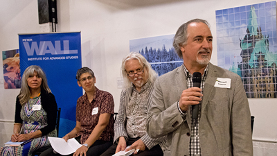 Author's panel from Reflections of Canada book launch.