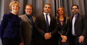 Welcome reception for Mohammed Fahmy