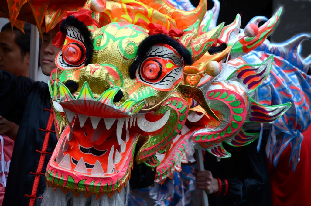In Victoria BC, Chinese New Year's celebrations are vibrant and lively affairs. This is Canada's multicultural mosaic coming together.