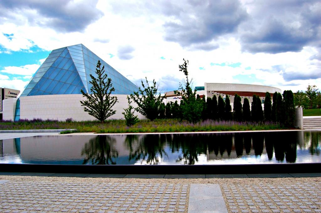 An August afternoon at the Aga Khan Musuem, which features the culture and art of Islamic civilizations