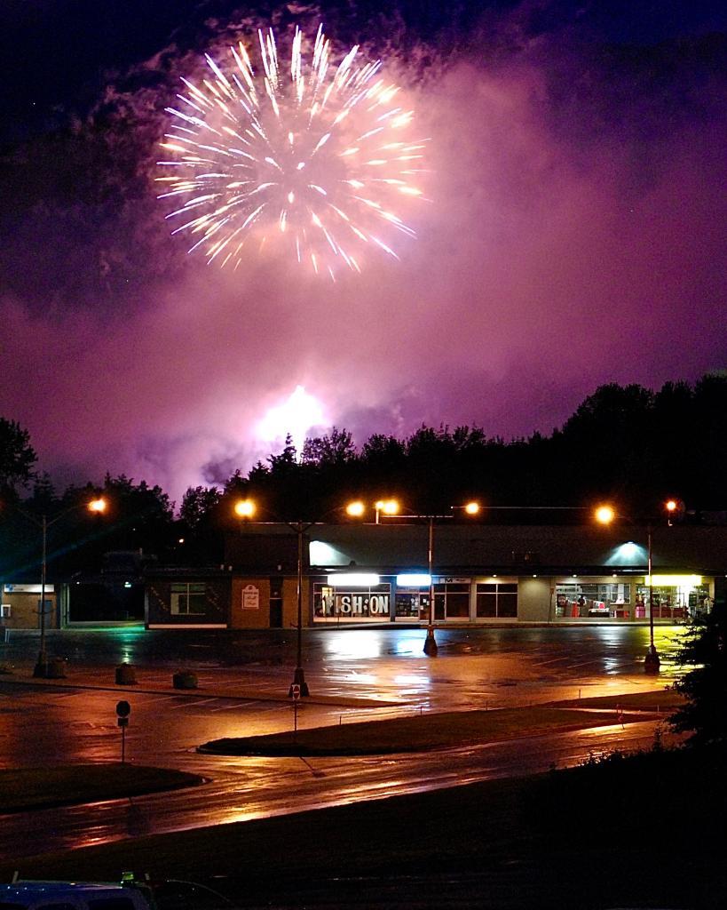 Celebrating Canada Day in Kitimat, BC.