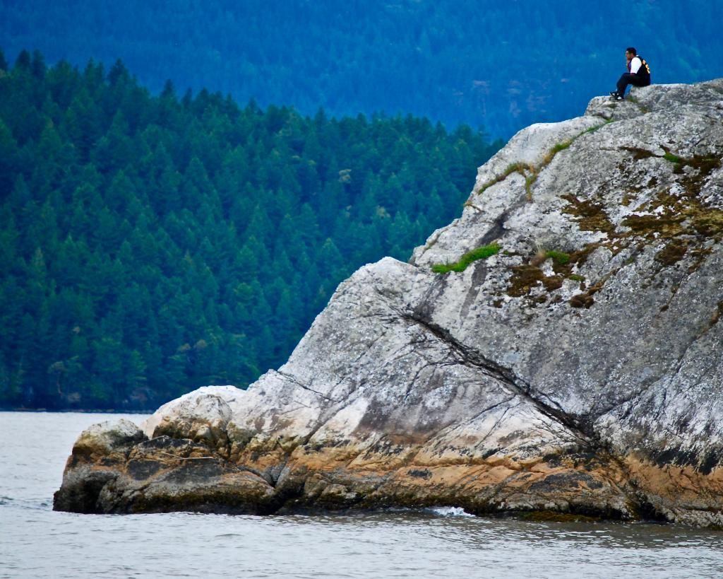 Whytecliff Park, just outside of West Vancouver, provides visitors with a welcome retreat from nearby urban life.