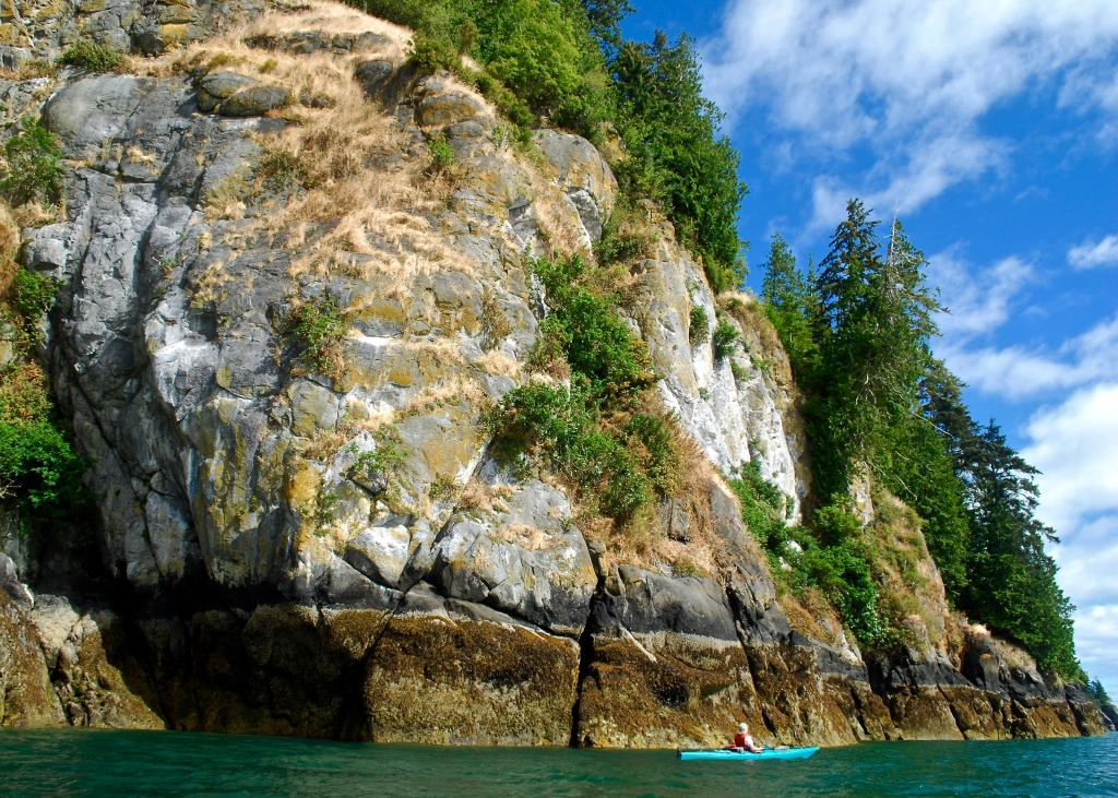 Taken on a paddle between Graham Island and Moresby Island, Haida Gwaii.
