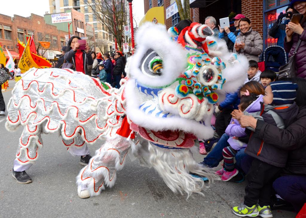 Chinese New Year festival in Vancouver