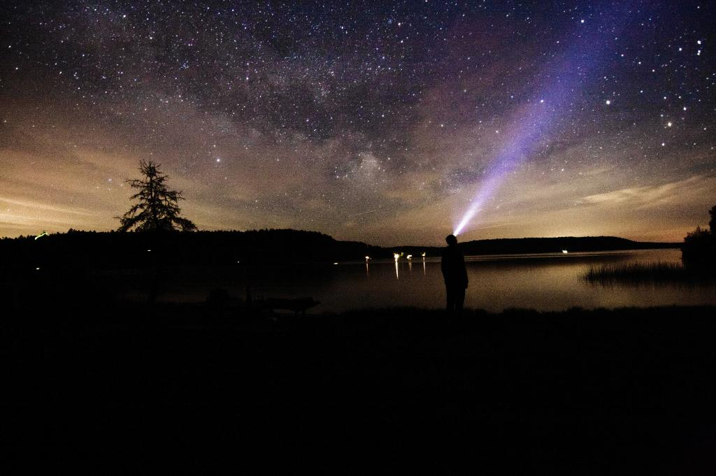 A late night camping in Bon Echo Provincial Park in the summer of 2016.  A view of the milky way just before the storm came in.
