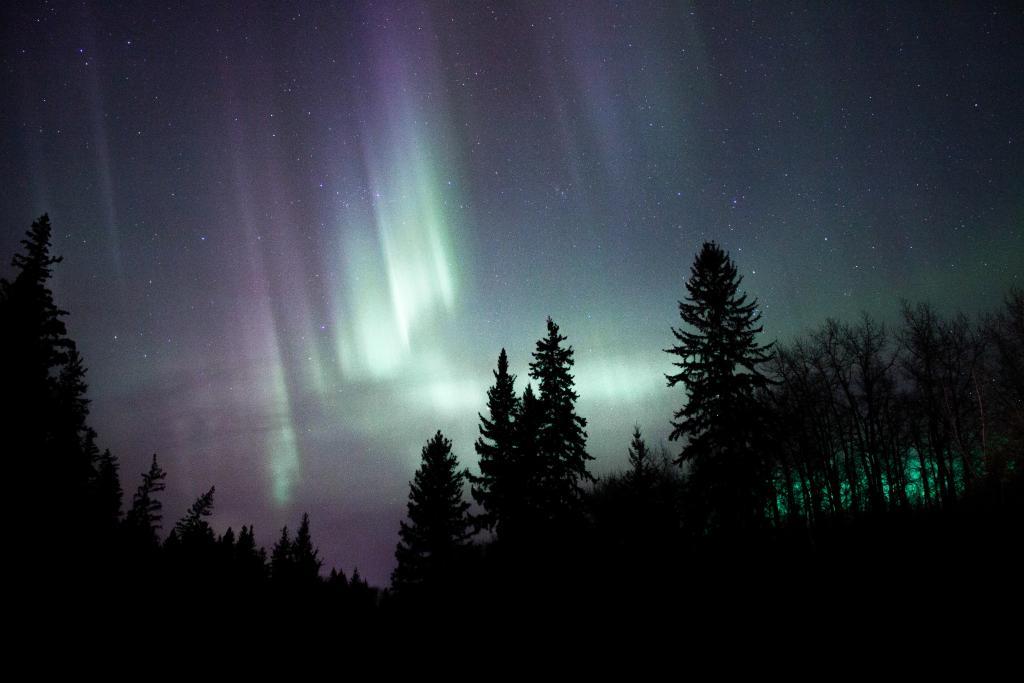 Aurora in Redwater, Alberta.