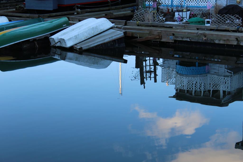 Cowichan bay,house boat
