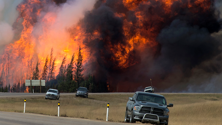 Fort McMurray wildfire.