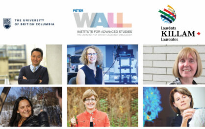 Wall Scholars and Associates Receive Killam Research Fellowships and Prizes