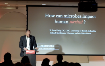 Brett Finlay   Microbes are part of us