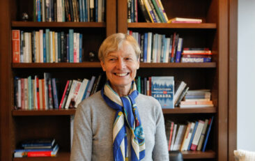 Q&A with Distinguished Visiting Professor and seismologist Dr. Barbara Romanowicz