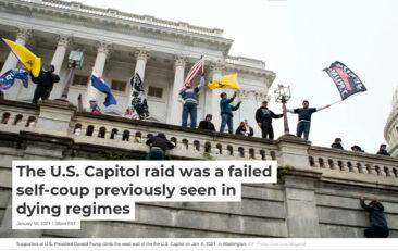 The U.S. Capitol Raid Was a Failed Self-Coup