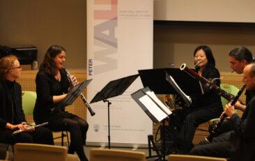Institute academics perform evening of wind music