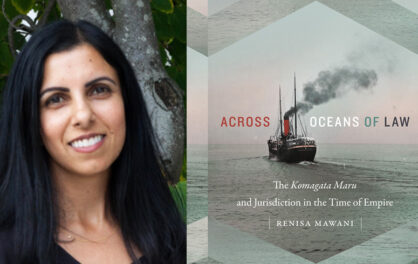 2015 Wall Scholar Renisa Mawani wins Asian American Studies Book Award
