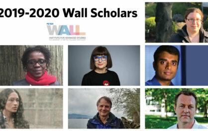 2019-2020 Wall Scholars